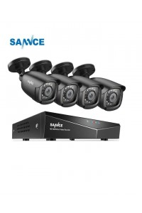 Sannce 4 Camera Bullet 8 Channel 1080N 5-in-1 DVR 1TB Security System