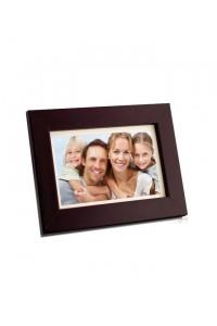 Coby 7inch Digital Photo Frame Wood Design