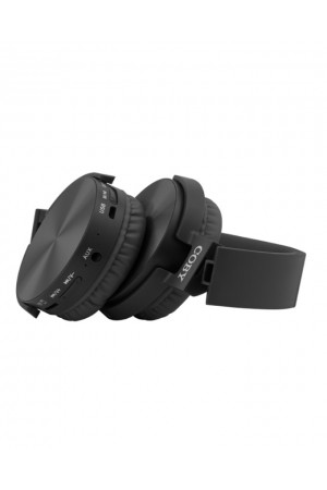 Coby Wireless Metal Folding Headphones