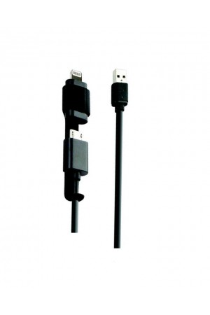 Key 2-in-1 Micro USB & Lightning Cable