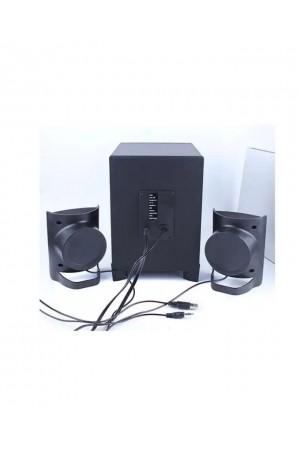 Kisonli USB 2.1 Wired Multimedia Bluetooth Speaker